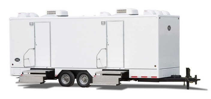 Raleigh Restroom Trailer Rentals in Raleigh, North Carolina